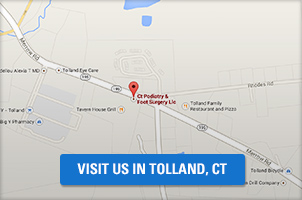 Visit CT Podiatiatry of Tolland